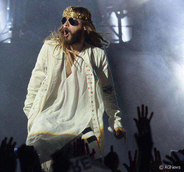 Jared Leto tem o cabelo mais cobiçado pela homens cabeludos e também pelas mulheres. O cantor se apresentou com a banda 30 Seconds To Mars no Rock in Rio 2013