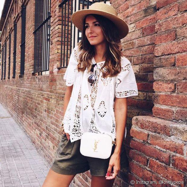 O chapéu é o acessório perfeito para proteger os cabelos do sol