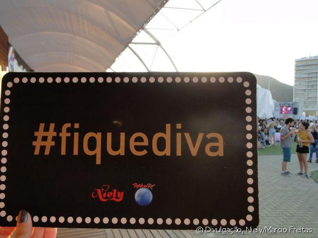 E já sabe, né? Se for postar foto no Instagram, coloca a nossa hashtag @FiqueDiva!