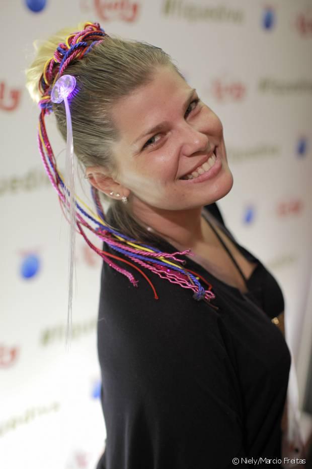 Mais de mil meninas passaram para preparar o visual antes de curtir os shows, garantindo penteados incríveis e feitos pelos cabeleireiros da Niely