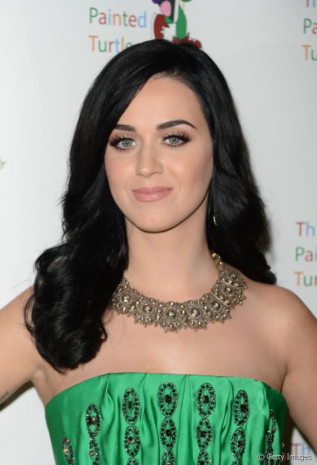 Katy Perry já teve cabelos em diferentes comprimentos
