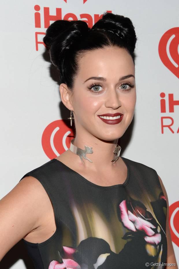 Katy Perry já até usou o penteado inspirado na princesa Leia, do filme 'Star Wars'