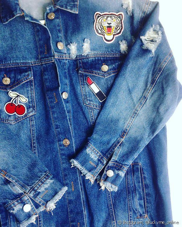É muito fácil customizar suas peças com os patches, basta usar o ferro de passar roupa para colar os com termoaderência ou costurá-los.