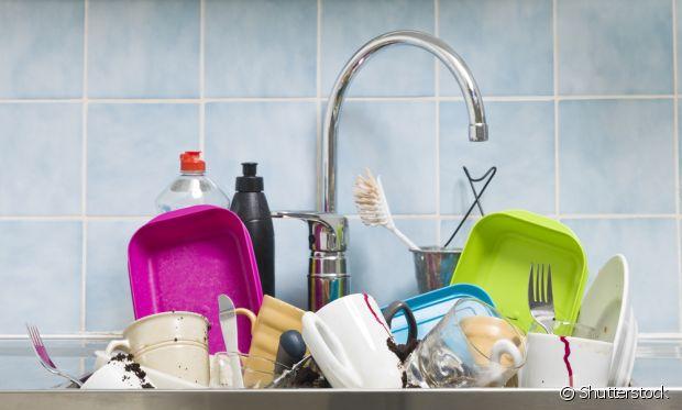 Quando você for morar sozinha, percebe que a louça não se lava sozinha