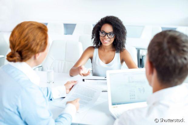 Durante a entrevista, tome cuidado com o ritmo e as palavras que você fala