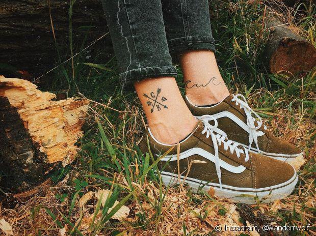 Cuidado com a complexidade dos desenhos nas tatuagens pequenas