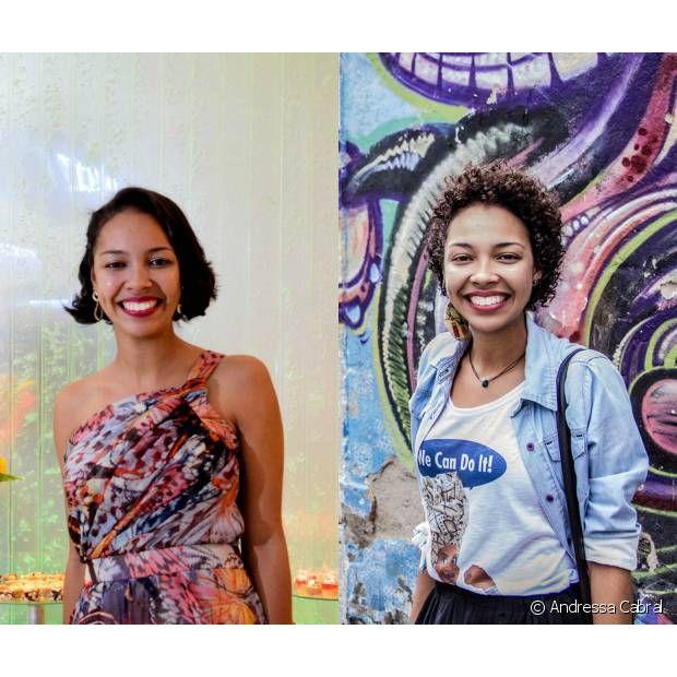 A jornalista Andressa Cabral decidiu dar fim ao período de 16 anos alisando os fios e garante que a trajetória foi como renascer