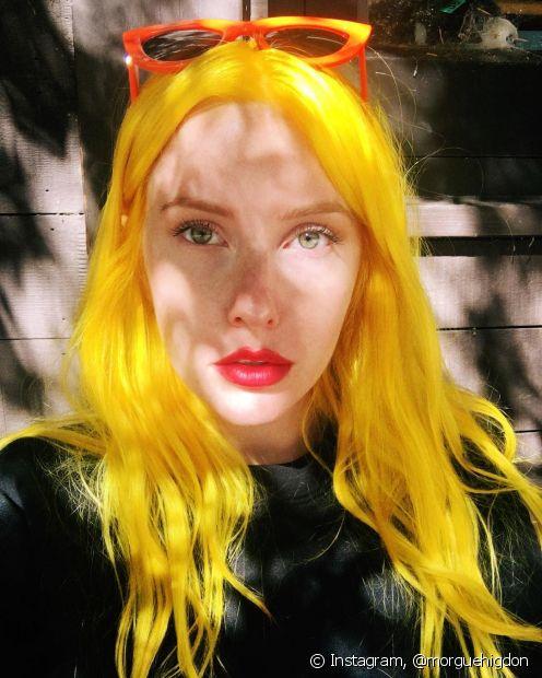 O amarelo vibrante é a nova tendência nas cores fantasia! Aposte na cor para um resultado único e cheio de estilo