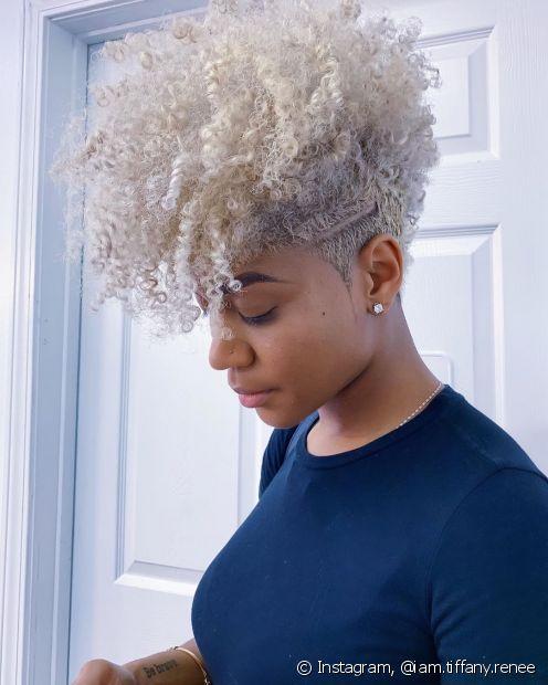 O tappered hair é o corte perfeito para garantir a transição capilar (Foto: Instagram, @iam.tiffany.renee)