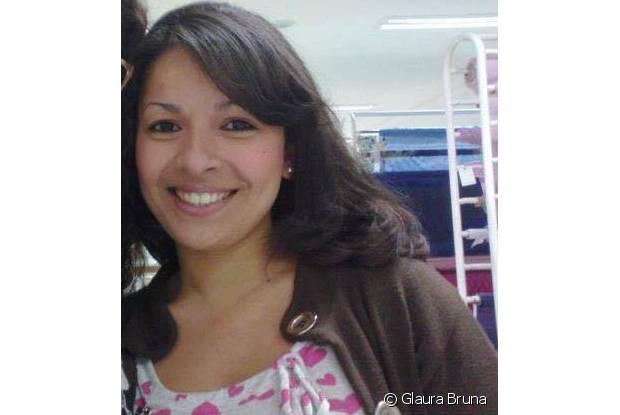Glaura Bruna começou a alisar os cabelos com 14 anos