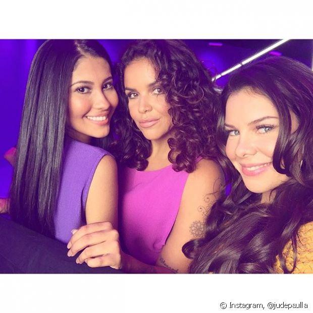 Ju de Paulla gravou o clipe de Brilho&Ton ao lado de Fernanda Souza, nossa diva, e Thayana OG