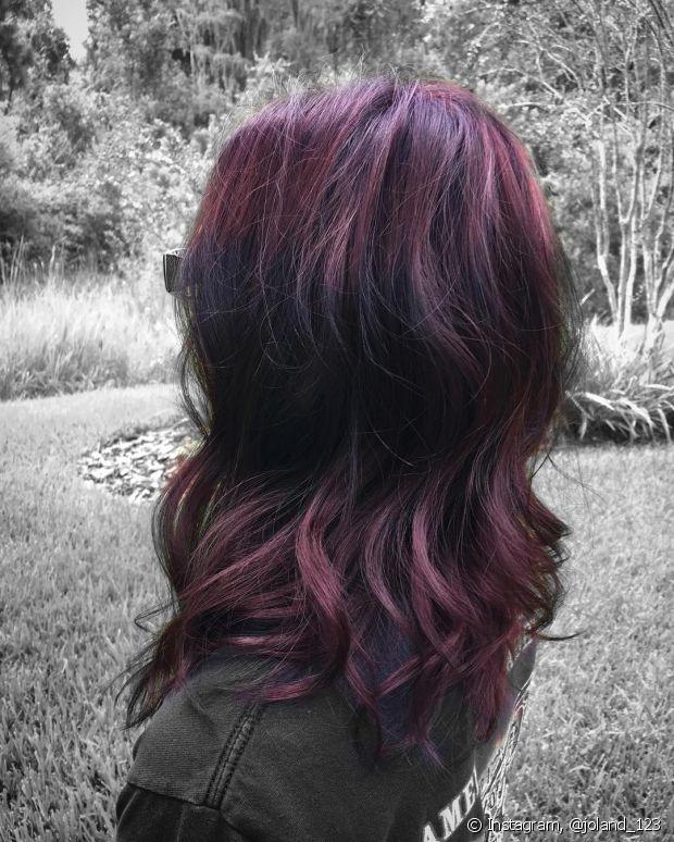 O ruivo violeta está fazendo sucesso!