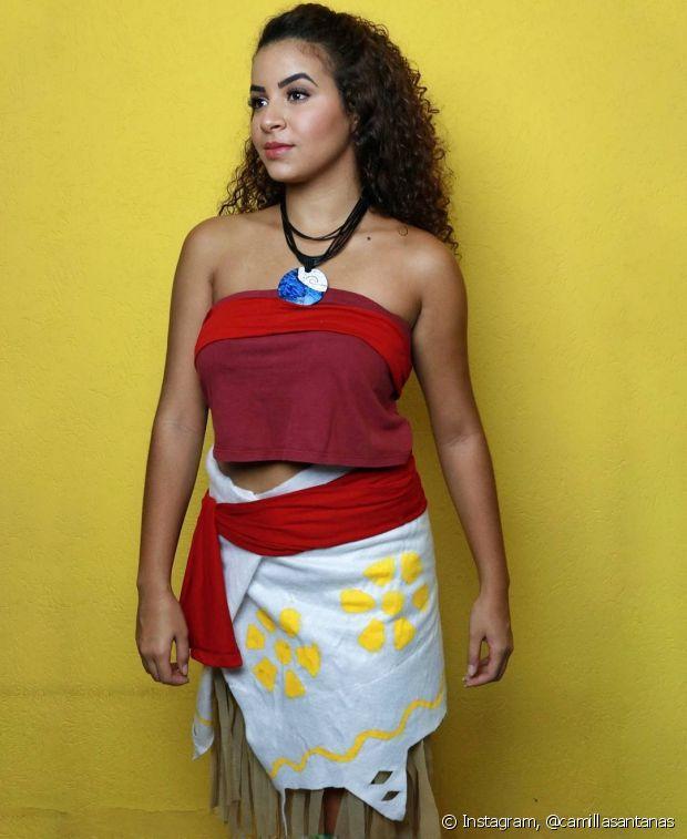 Moana, nova personagem da Disney, foi a inspiração da Camilla Santana!
