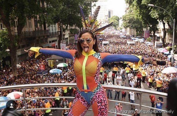 Anitta fecha o Carnaval carioca com o Bloco das Poderosas pelo segundo ano consecutivo