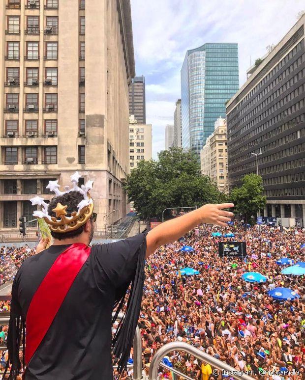 Marcus Majella foi o Rei do Bloco das Poderosas - @nobrumaia