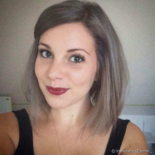 Granny Hair (cabelo cinza) é tendência!