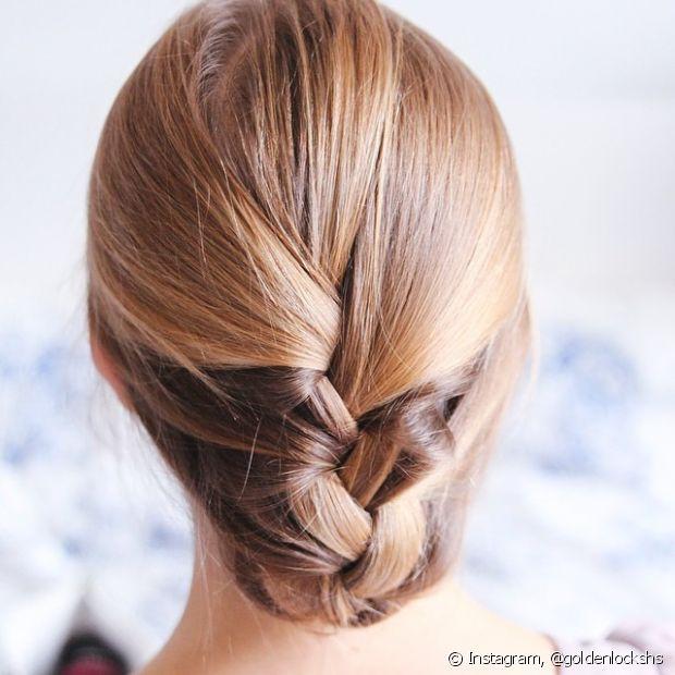 O trançado deixa qualquer penteado mais charmoso