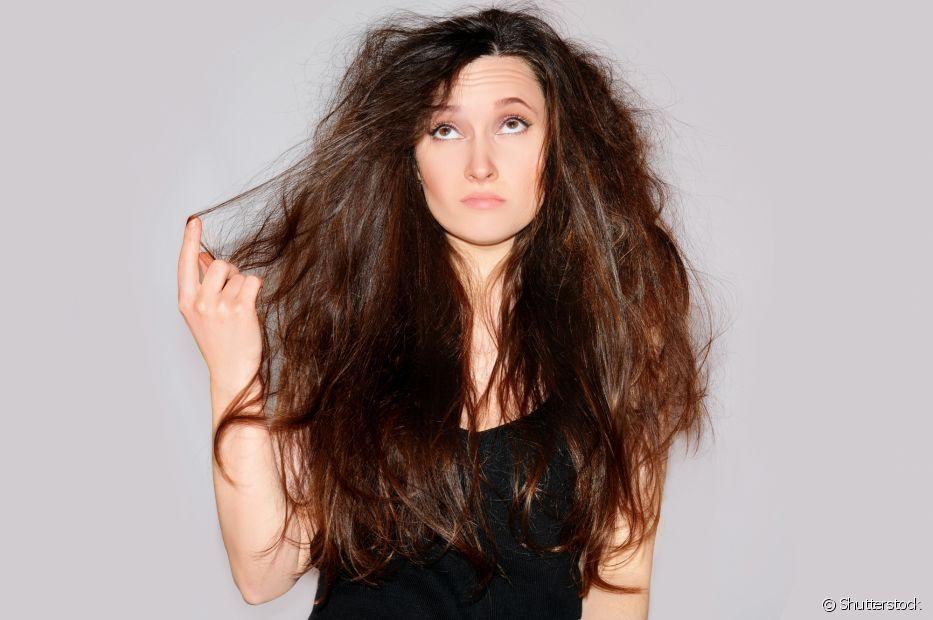 O teste de porosidade pode ajudar a identificar se a cutícula do cabelo está muito aberta