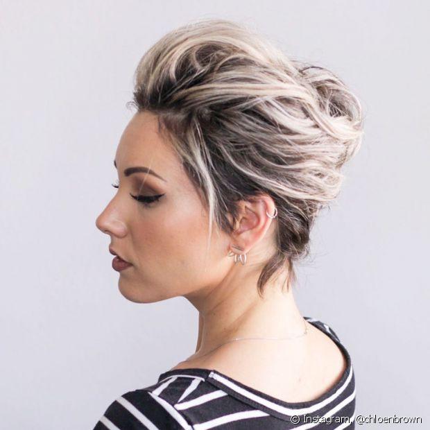 Os cabelos mais curtinhos podem ficar mais estilosos com dicas e truques para estilizar os fios