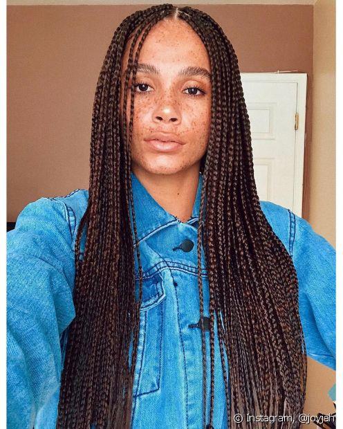 Para fazer penteados trançados com extensão, o jumbo é uma ótima opção e possui diversas vantagens