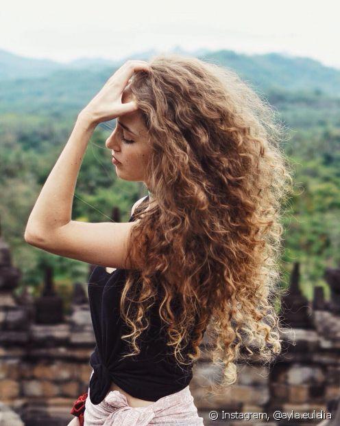 Saiba como clarear o cabelo com receitas caseiras (Foto: Instagram, @ayla.eulalia)