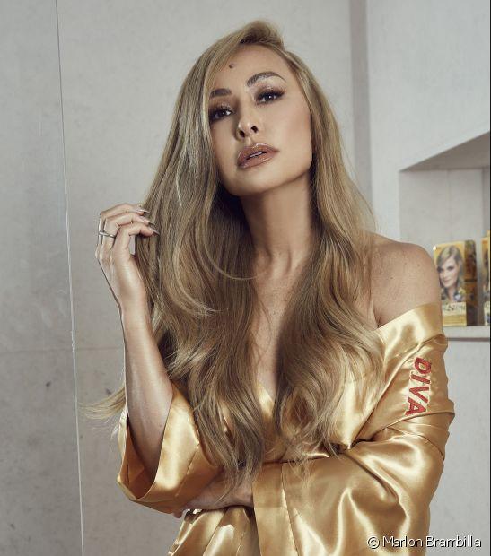 Cor&Ton possui 39 nuances para você escolher - e as opções não acabam nos cabelos loiros, como os de Sabrina Sato