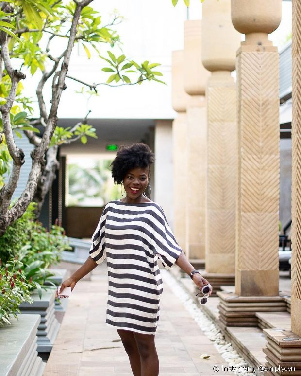Se você preferir um vestido mais básico e solto, também pode! O importante é você estar se sentindo confortável