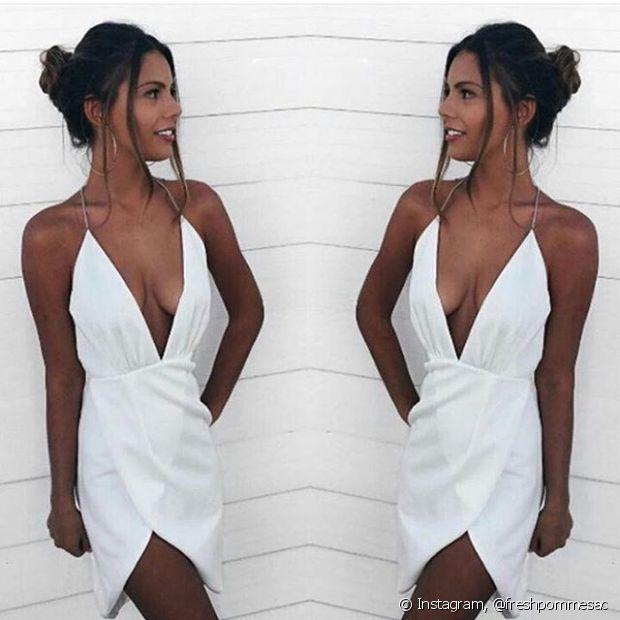 Se você vai passar a virada na praia, os vestidos vão ser a melhor opção para você. Frescos, vai ficar fácil aproveitar a noite de ano novo
