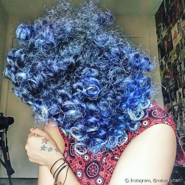 A cor azul transmite muita personalidade