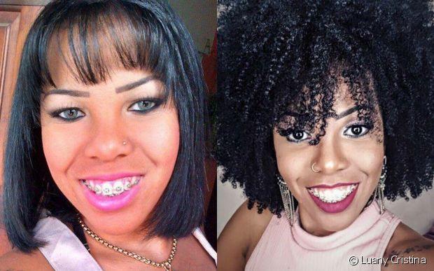 Após inúmeras idas ao salão para fazer escova progressiva, Luany Crstina, a Diva do Black, contou que sua ficha caiu após um cabeleireiro maltratá-la falando mal do seu cabelo