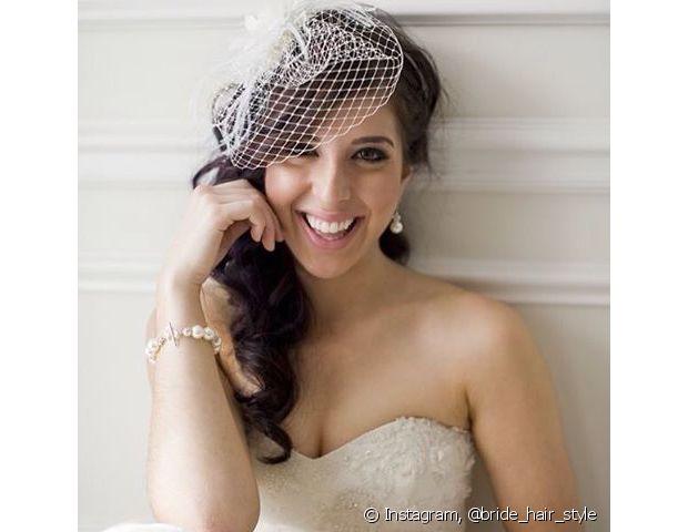 O voilette é o acessório perfeito para as noivas mais descoladas