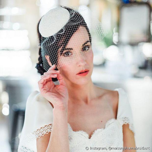 O voilette é muito versátil e combina com todos os estilos de vestido