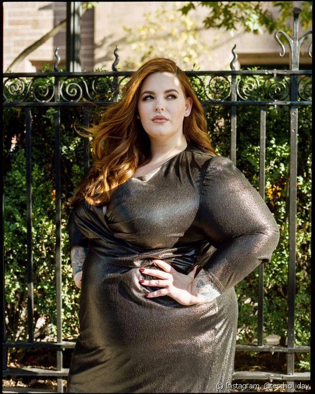 A britânica Tesse Holliday é uma das modelos plus size mais influentes do Reino Unido e luta pela igualdade entre as mulheres