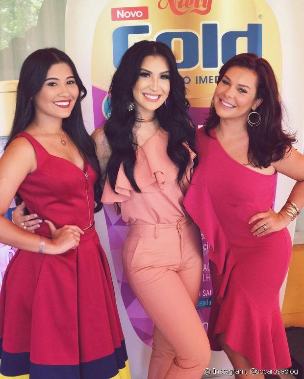 Thaynara Og, Bianca Andrade (Boca Rosa) e Fernanda Souza são as divas do Mega Brilho Niely Gold