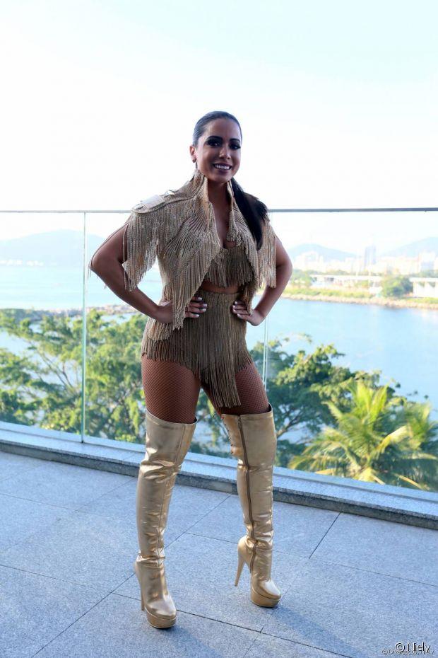 No Bloco das Poderosas, em 2016, Anitta botou todo mundo para dançar