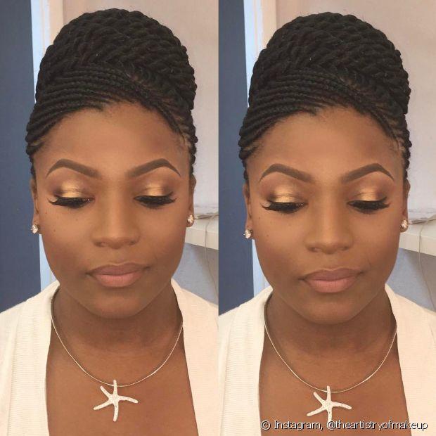 Não esqueça de cuidar bem das suas box braids para que o penteado fique impecável no dia do casamento