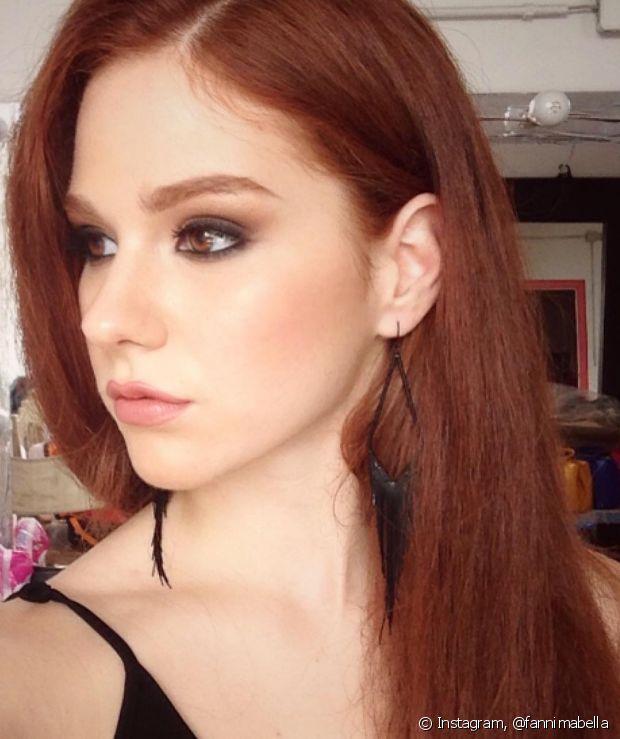 Os cabelos ruivos podem variar de cor conforme a idade, mas não é tão comum