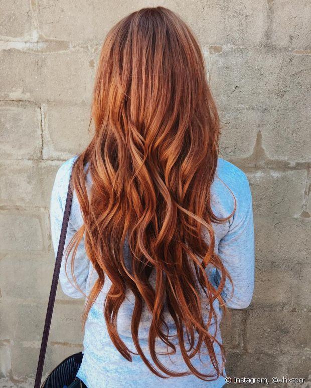 Os cabelos naturalmente ruivos demoram mais tempo para ficar brancos, em comparação com os outros tons