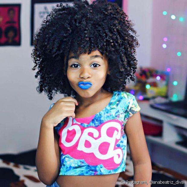 'Tem uma frase que eu uso muito quando converso com minha filha ou até mesmo outra pessoa que é: 'Seja você a sua própria inspiração'', explicou a dona do blog Diva do Black