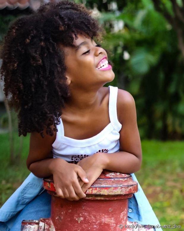 Luany Cristina explica que sempre tenta levantar a autoestima da sua filha