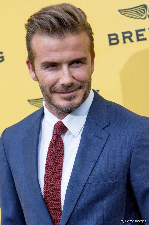 David Beckham, sempre referência no assunto capilar, também aposta no corte atualmente