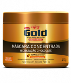 Máscara Concentrada Niely Gold Hidratação Chocolate 430g