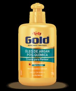 Creme de Pentear Niely Gold Óleo de Argan Pós Química 430g