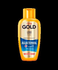 Shampoo Niely Gold Liso Pleno