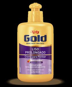 Creme para Pentear Niely Gold Liso Prolongado 430g