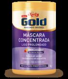 Máscara Concentrada Niely Gold Liso Prolongado 1kg