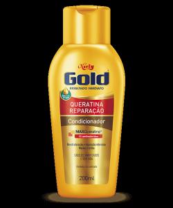 Condicionador Cuidado Diário Niely Gold Queratina Reparação 200ml