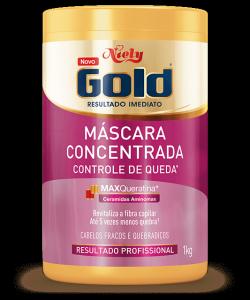 Máscara Concentrada Niely Gold Controle de Queda 1kg