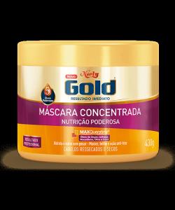 Máscara Concentrada Niely Gold Nutrição Poderosa 430g