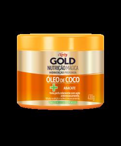 Máscara Concentrada Niely Gold Nutrição Mágica 430g